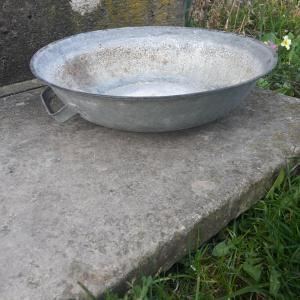 Petite bassine en zinc 3